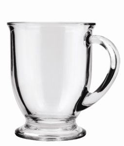 Glass coffee mugs made in USA
