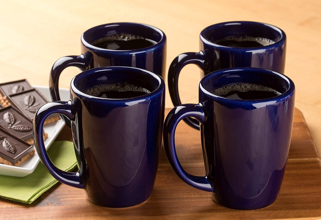 Pottery coffee cups made in USA