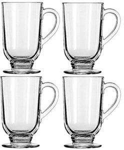 Quality glass coffee mugs