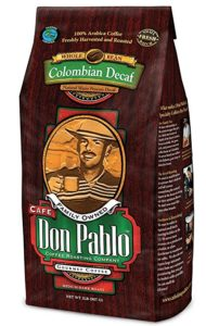 Is cafe don Pablo best tasting decaf coffee beans?