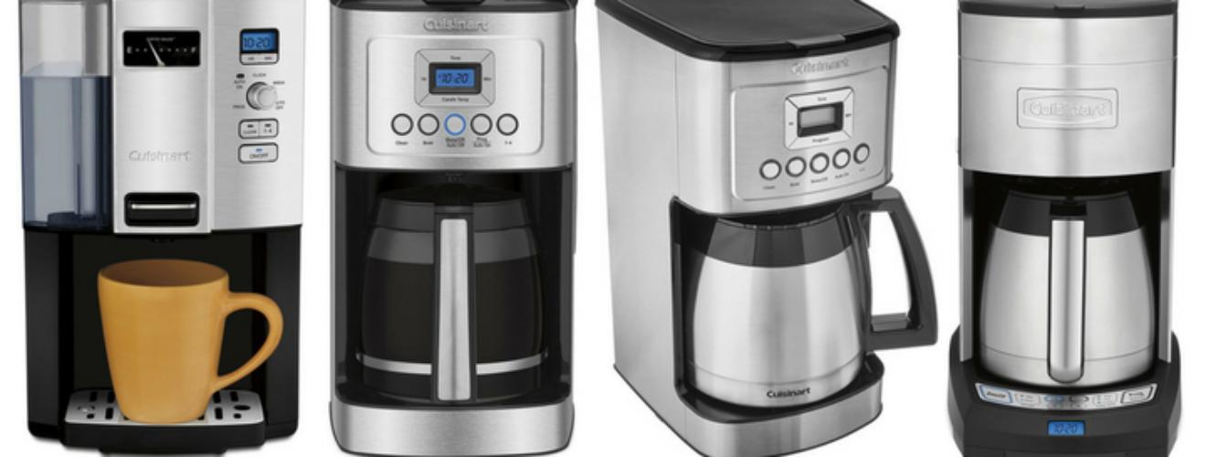 Comparison Between Cuisinart Dcc 3000 Dcc 3200 Dcc 3400 And Dcc 3750