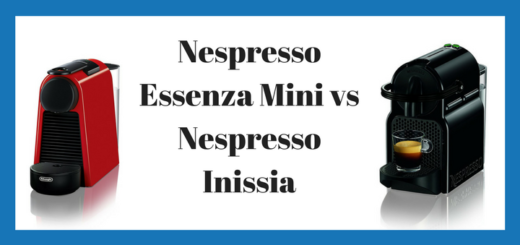 Nespresso Inissia vs Essenza Mini