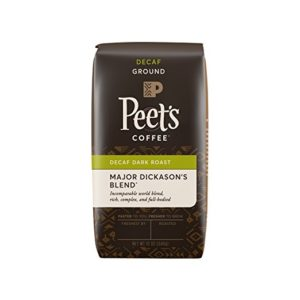 Major Dickason's best ground decaf coffee