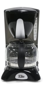 Top cheap 4-cup coffee maker Elite Cuisine EHC-2022 Maxi-Matic