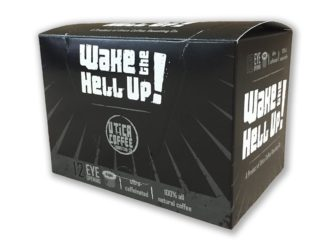 Wake The Hell Up strongest coffee k cups