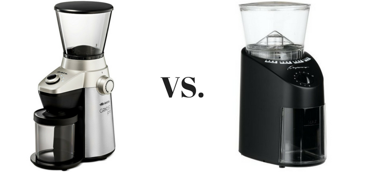 Ariete vs Capresso Infinity. Which burr grinder is best for you?
