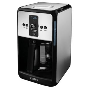 KRUPS Turbo Savoy 12-Cup Coffeemaker Review