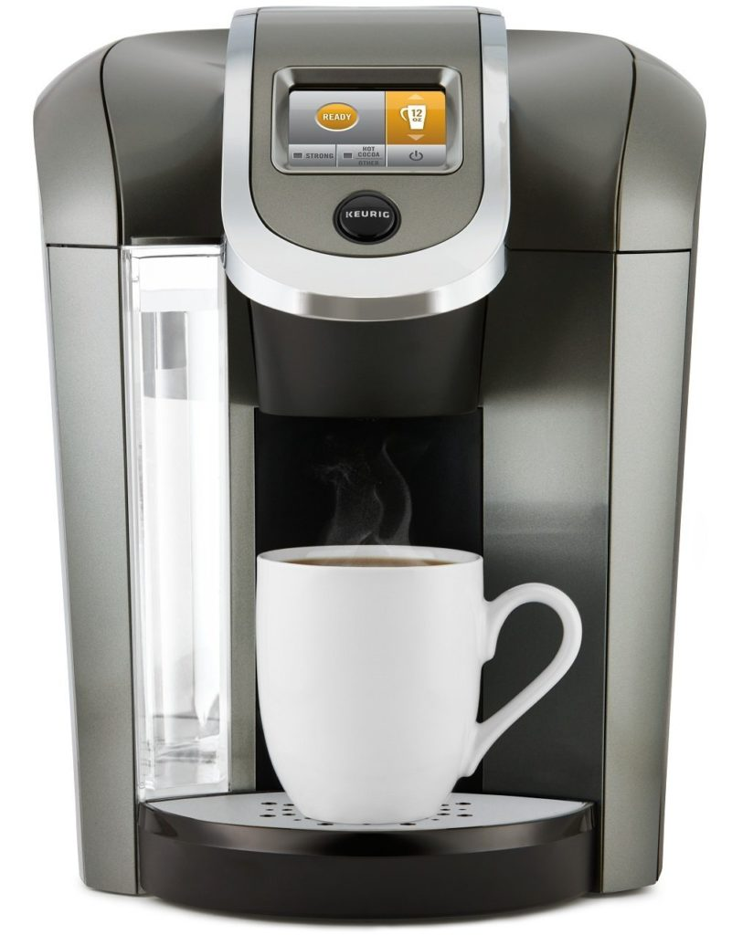 Keurig K575 with great hot water system feature