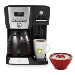 Mr. Coffee Programmable Coffee Maker with Integrated Hot Water Dispenser