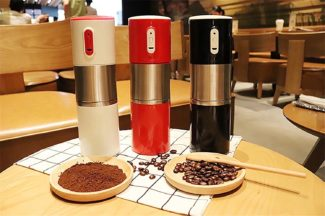 Battery powered coffee Grinders by FasterS