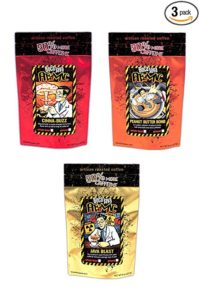 Boca Java's Atomic coffees with 50% More Caffeine