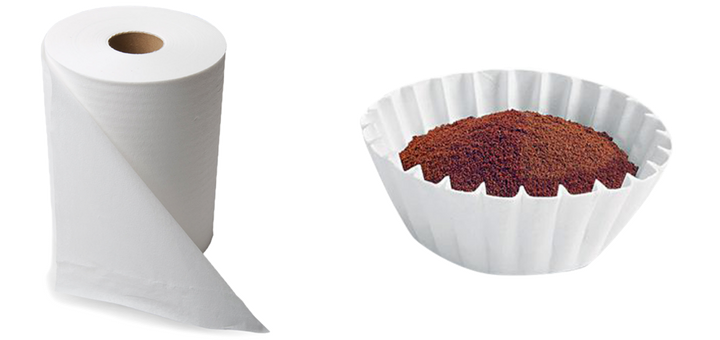 Can you use a paper towel as a coffee filter?