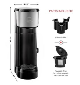 Chefman Great compact K cup coffee maker
