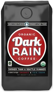 Darkest Coffee Dark Rain coffee