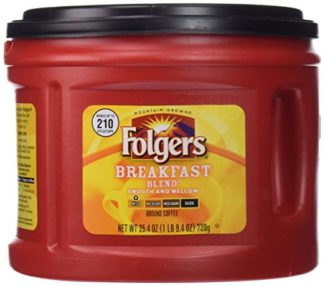 Folgers Breakfast Blend Ground Coffee
