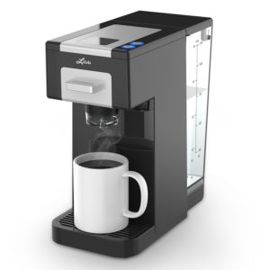 Litchi Single Serve Coffee Maker for Most Single Cup Pods Including K Cup Pods, Ground Coffee