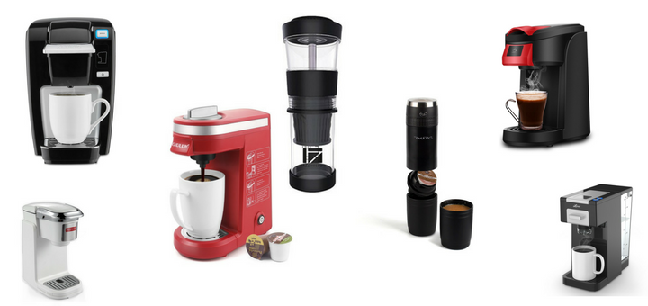 Smallest K-cup Brewers