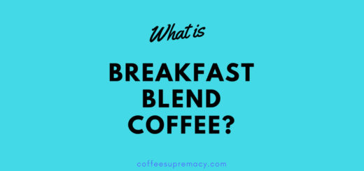 What is breakfast blend coffee?