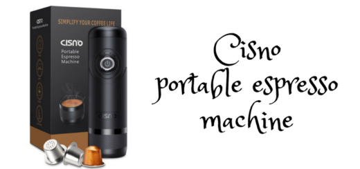 Cisno portable espresso machine