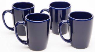 American Mug Pottery Ceramic Coffee Cappuccino Mug, Made in USA